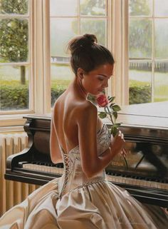 "Art by Rob Hefferan ""Put your thoughts to sleep,do not let them cast a shadowover the moon of your heart.Let go of thinking."" ~ Rumi"