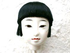 Japanese Doll Head Hina Matsuri Girl S46