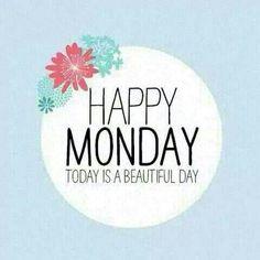 #HappyMonday #BeautifulDay