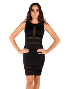 Tribeca Exchange | Doveva scuba fitted dress
