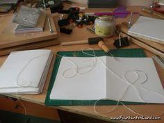 Encuadernación de libretas artesanales