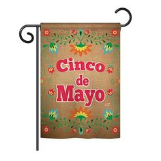 Angeleno Heritage - Suzani Cinoco de Mayo Country & Primitive - Everyday Southwest Impressions Decorative Vertical Garden Flag x Printed In USA Side Garden, Flag Decor, Country Primitive, Garden Flags, Printed, Usa, Design, Products, Cinco De Mayo