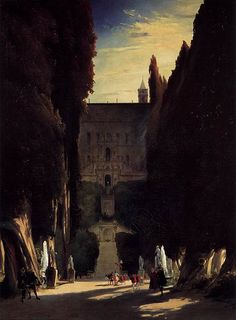 Carl Blechen (1798–1840) Tivoli Gardens at the Villa d'Este Datebetween 1831 and 1832