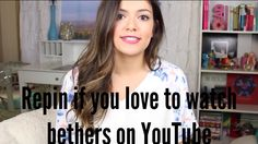 ♡♡ repin if you love beth or just repin if you love beths videos on youtube an reping for both