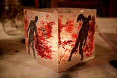 The Walking Dead Party | DIY Lantern | vixventure.com