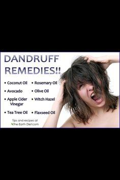 Dandruff remedies