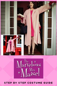Love dressing up for Halloween? Got a theme party to go to? How about the Marvelous Mrs. A fun and spirited character with many gorgeous look from which to choose. This post walks you through this look from the pilot epsiode. Halloween Outfits, Halloween Ideas, Halloween Costumes, Amazon Shows, Costume Parties, Oscar Party, Costume Shop, Costume Ideas, Walks