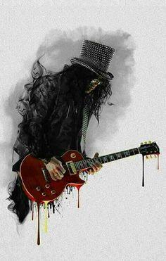 Slash-Guns and Roses........
