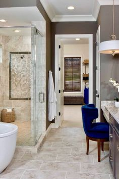 28 Arousing Master Bathroom Designs🚿