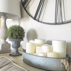 Farmhouse style living room, modern farmhouse by Julie Warnock Interiors.