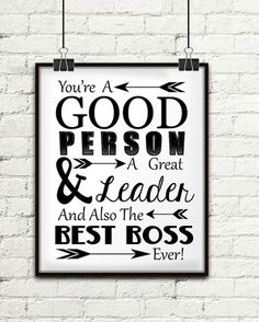 You're A Good Person A Great Leader And Also The Best Boss Source by izulfaizi Best Boss Gifts, Gifts For Your Boss, Gift Ideas For Boss, Farewell Parties, Farewell Gifts, Farewell Message, Boss Birthday, Birthday Quotes For Boss, Friend Birthday