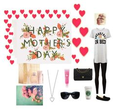 """""""Mother's Day 2015"""" by bellaclairecassedemont ❤ liked on Polyvore featuring Rifle Paper Co, Burberry, Rick Owens Lilies, Kate Spade, Yves Saint Laurent, UGG Australia, Chanel and Lancôme"""