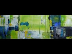 Acrylmalerei,Abstract, Abstrakt,Frühling, Springtime - YouTube