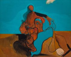 Max Ernst, The Kiss (Le baiser), 1927 — Collection Online | Max Ernst. The Kiss (Le baiser). 1927 - Guggenheim Museum