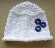 Ravelry: Snowdrops Hat pattern by Esther Kate