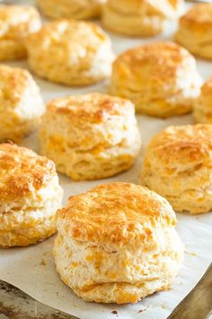 Warm, buttery cheddar cheese scones with a kick of cayenne. The perfect side for any soup or salad.