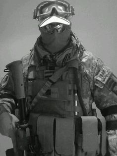 Ghost Soldier #military #soldier