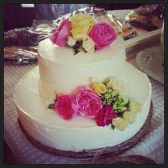 Texan Wedding cake
