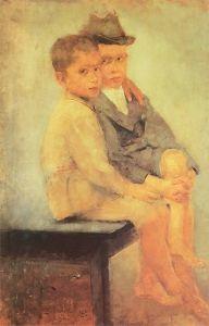 Poor Boys - Olga Boznańska - The Athenaeum