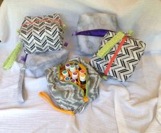 Essential Oils Case / Carrying Pouch / Padded Bag by MarcyArtsy, $28.00