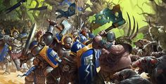 Age of Sigmar Artwork   Stormcast Eternals vs Nurgle #artwork #art #aos #warhammer #ageofsigmar #sigmar #arts #artworks #gw #gamesworkshop #wellofeternity #wargaming