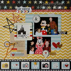 Layout: Say Cheese **Simple Stories**
