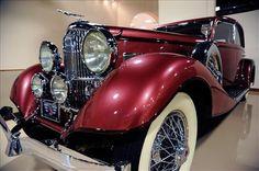 """1933 Duesenberg Model J """"Queen of Diamonds"""" Franay Sports Berline Sedan  sold 1,900,000"""