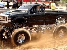Mud Bogging and Tractor Pulling
