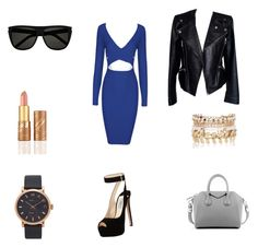 """""""Night at a Club"""" by stellaarikeojo ❤ liked on Polyvore featuring Alexander McQueen, Prada, Marc Jacobs, tarte, Givenchy, Yves Saint Laurent and River Island"""