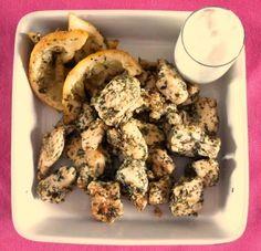Lemon herbed chicken . Pollo al limone con erbe