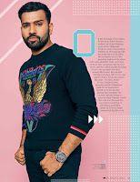 Male Fashion Trends: Rohit Sharma para GQ India por Arsh Sayed