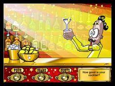 Rób drinki,mieszaj i ciesz się rozrywką grając w moje ulubione gry w których robimy drineczki i je próbujemy hihihi :)