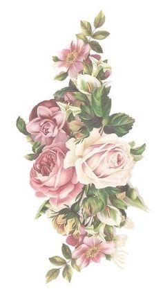 Decoupage Vintage, Decoupage Paper, Vintage Paper, Framed Tattoo, Foto Transfer, Rose Art, Vintage Labels, Vintage Flowers, Vintage Prints