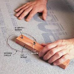 How to install cement board in the bathroom.