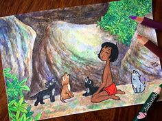 Disney Animated Movies, Disney Animation, Wolf, Fanart, Illustration Art, Doodles, Sketch, Watercolor, Drawings
