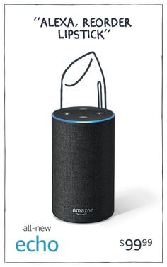 Promoted: Just ask Alexa to play music, fashion podcasts, reorder beauty supplies and even book your next haircut. The Amazon Echo, starting at just $49.99.
