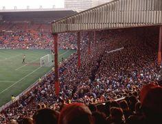 The Stretford End, Old Trafford.