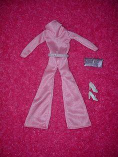 Extremely RARE Vintage 1977 Mego Maddie Mod Fashion 45 10594 Pink Jumpsuit EXC   eBay