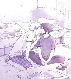 Good Morning my Sweetheart :P #sasunaru #narusasu