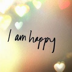 I hope I am going to be happy someday again