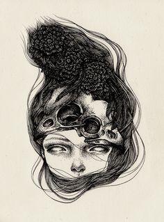 Annita Maslov - August 2012 illustration