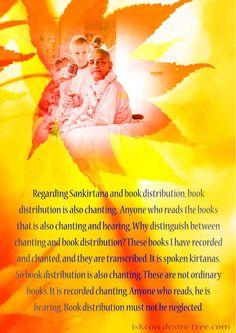 Quotes by Srila Prabhupada on Sankirtan and Book Distribtuion