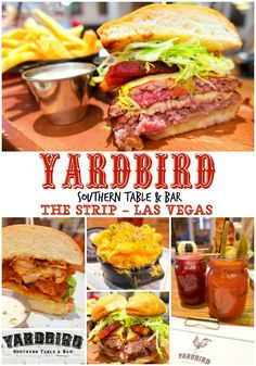 Yardbird Southern Table and Bar - Las Vegas - located inside the Venetian. We went for lunch and it was fantastic! The burger was one of the best we've ever eaten! The cocktails are amazing! We can't wait to go back! A MUST on your next Vegas trip! Las Vegas Eats, Las Vegas Food, Vegas Fun, Las Vegas Nevada, Las Vegas Attractions, Las Vegas Restaurants, Las Vegas Vacation, Travel Vegas, Vegas Birthday