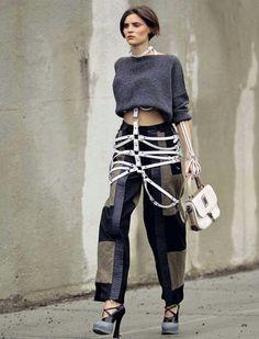 Zana Bayne Leather — Skeleton Harness