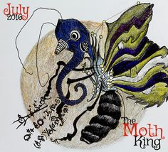 Mad scientist and butterfly, Turtum built himself mechanical wings after an experiment went wrong. The Moth King book available July 2016!