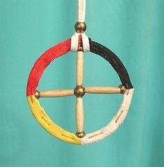 Native American Oglala Lakota Sioux Medicine Wheel