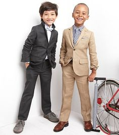 What the boys have picked for the wedding... Except Noah picked grey.