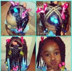 African American hairstyle for kids