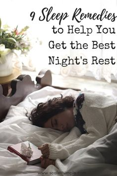 Sleep remedies to help you get the best rest. Meditation, teas and creating a relaxing environment have been great sleep aids throughout the centuries.