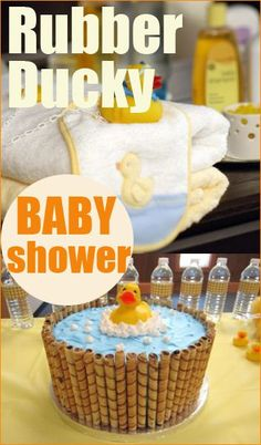Quack quack! Check out these adorable ideas for a rubber ducky-themed baby shower or kids party. Perfect baby shower party ideas for a boy or girl.